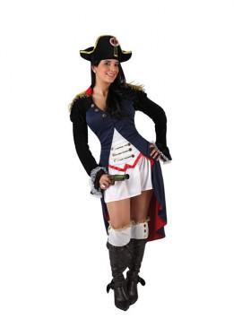 Disfraz de Napoleona sexy para mujer talla M-L