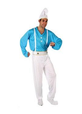 Disfraz de Enanito Azul para hombre