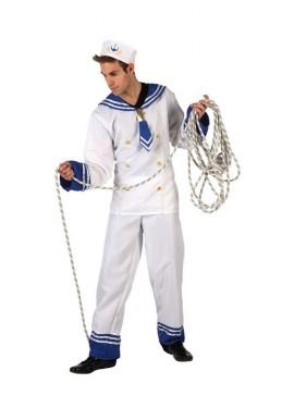Disfraz de Marinero blanco para hombre