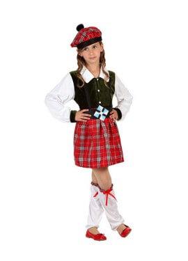 Costume scozzese per ragazze