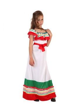 Disfraz de Mejicana para niñas