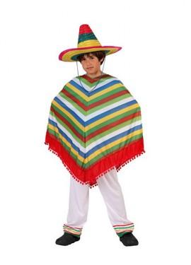 Disfraz de Mejicano para niños