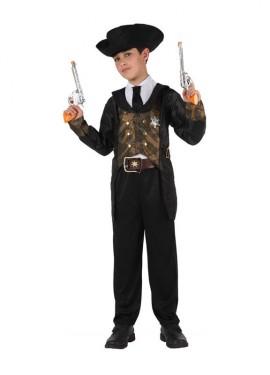 Disfraz de Sheriff para niños de 10 a 12 años