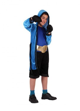 Disfraz de Boxeador para niños de 7 a 9 años