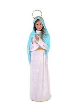 Disfraz de Virgen para niñas