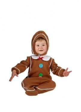 Disfraz de Galleta para bebés de 6 a 12 meses