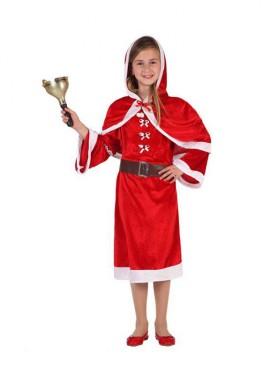 Disfraz de Mamá Noel para niñas