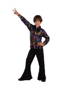 Disfraz de Chico Disco para niños