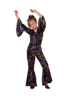 Disfraz de Chica de la Disco para niñas