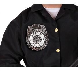 Placa de Policía de 15 cm