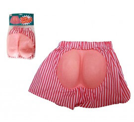 Pantalón corto con trasero de EVA