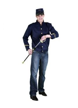 Disfraz de Sargento Confederado para hombre M-L