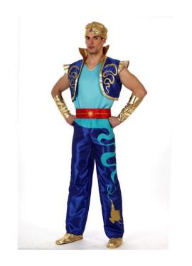 Disfraz de Genio Encantado para hombre talla M-L