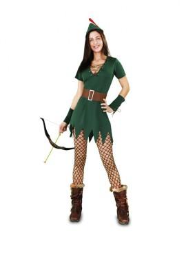 Déguisement Robin des Bois Sexy pour Femme plusieurs tailles
