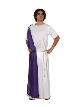 Disfraz de Romano con túnica para hombre talla M-L