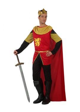 Disfraz de Rey Medieval para hombres talla M-L