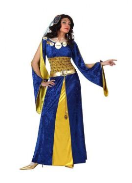 Disfraz de Reina Medieval para mujeres talla M-L