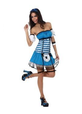 Disfraz de Alicia Sexy para mujeres talla M-L