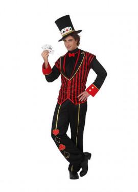 Disfraz de Croupier para hombre