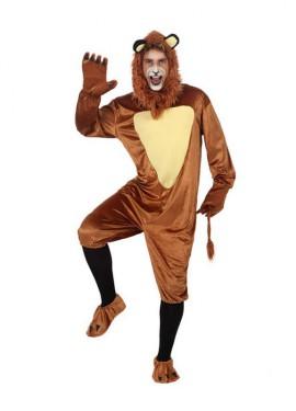 Disfraz de León para hombre de talla M-L