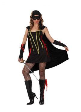 Disfraz de Bandida para mujer talla M-L