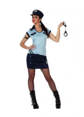 Disfraz de Chica Policía para mujer
