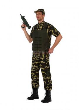 Disfraz de Camuflaje para hombre