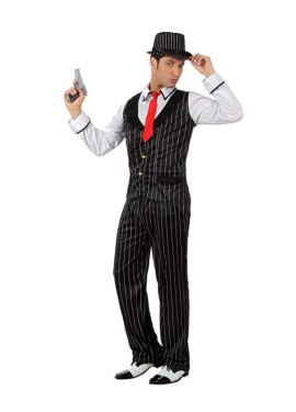Disfraz de Gánster Mafioso para hombre