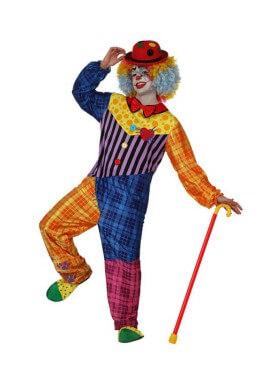 Déguisement de Clown pour homme plusieurs tailles