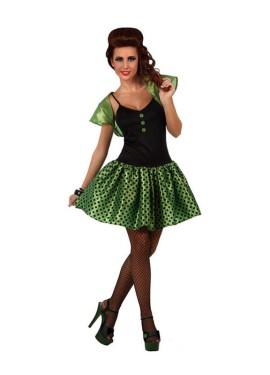 Disfraz de mujer de los a os 80 dancing para mujeres for Disfraces de los anos 60