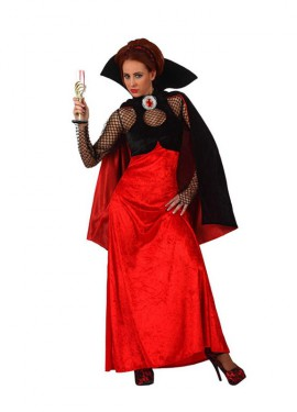 Disfraz Vampiresa elegante para mujer