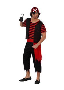 Disfraz de Pirata para hombre de la talla M-L
