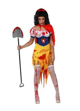 Disfraz de Princesa del bosque Sangrienta para mujer