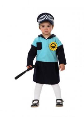 Disfraz de Policía para niña bebé
