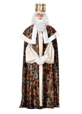 Traje o Disfraz de Rey Mago Melchor adulto