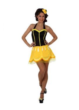 Disfraz de Chica Limón para mujer talla M-L
