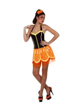 Disfraz de Chica Naranja para mujer talla M-L