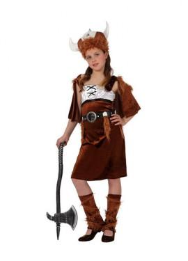 Disfraz de Vikinga para niñas