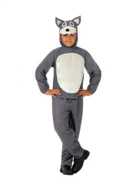 Disfraz de Lobo Feroz para niños