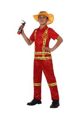 Déguisement de Sapeur-pompier pour enfants plusieurs tailles