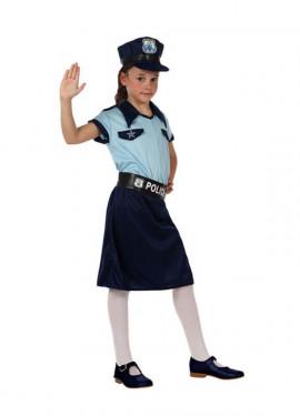 Déguisement de Fille Policier pour enfants plusieurs tailles