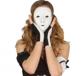 Masque Blanc en carton idéal pour décorer