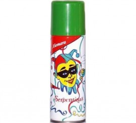 Spray Serpentina de color Verde