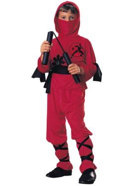 Déguisement de Ninja Rojo pour enfants plusieurs tailles