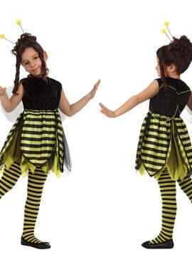 Disfraz de Abeja para niñas de 5 a 6 años