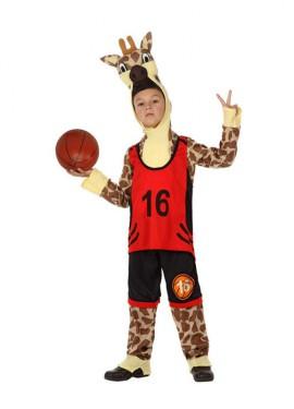 Déguisement de Girafe Sportif pour enfants plusieurs tailles