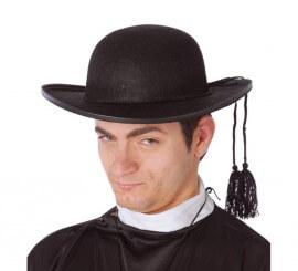 Sombrero de Párroco o Cura de fieltro