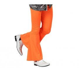 Pantalon Disco Orange pour homme plusieurs tailles