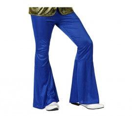 Pantalón de la Disco azul para hombre