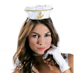 Mini Chapeau de Marin avec Diadème